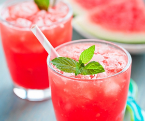 drink, FRUiTS, and watermelon image