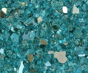 blue, crystal, and wallpaper image