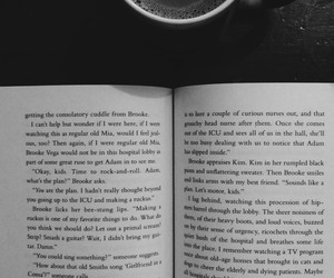 books, coffee, and vscocam image