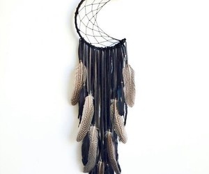 dreamcatcher, moon, and dream catcher image