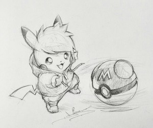 drawing and pokemon image