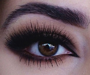 eyebrows and makeup image