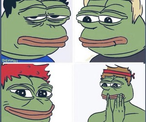 5sos and pepe the frog image