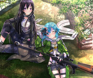 sword art online, anime, and kirito image