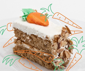 carrot cake, edit, and food image