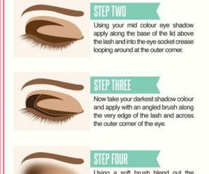 makeup, tutorial, and beauty image