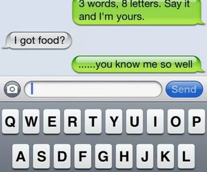 food, love, and funny image