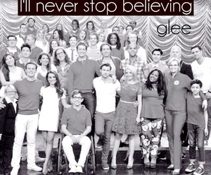 black and white, family, and glee image