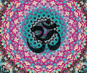 i AM, patterns, and om image