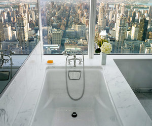 city, bathroom, and view image