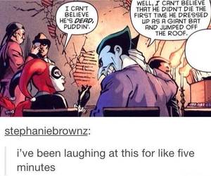 funny and the joker image