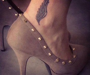 hermes, tattoo, and wings image