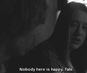 quote, tate, and evan peters image