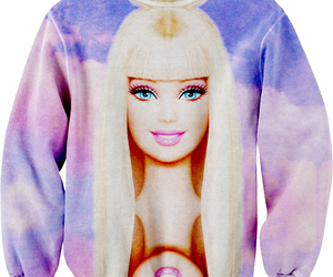 barbie, sweater, and pink image