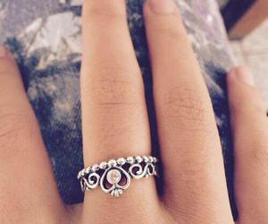 ring, pandora, and princess image