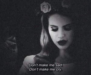lana del rey, sad, and born to die image