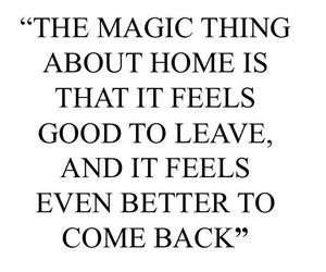 home and quote image