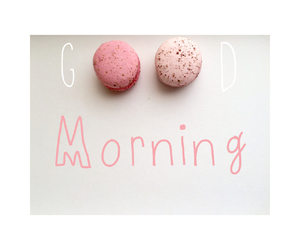 good, macaron, and morning image