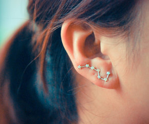 earrings and stars image