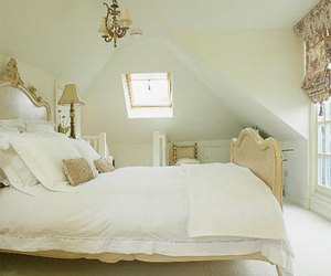 attic, bedroom, and comfortable image