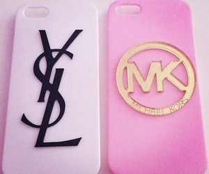 YSL, mk, and iphone image