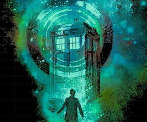 doctor who and t.a.r.d.i.s. image