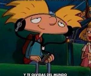 music and hey arnold image