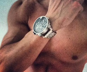 watch, muscles, and Hot image
