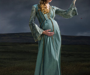 blue, dress, and gif image