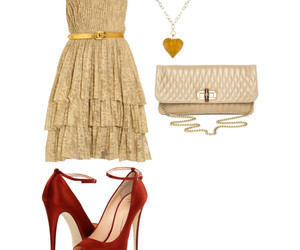 bags, dresses, and necklaces image