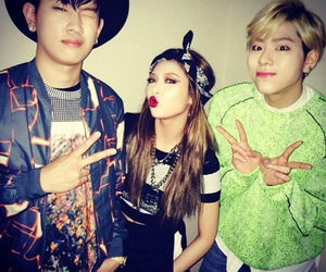 hyuna, zico, and 4minute image