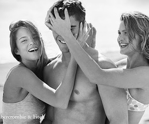 boy, abercrombie, and beach image