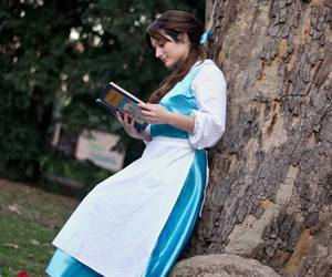 cosplay, disney, and the beauty and the beast image