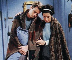 couples, perfect love, and monica and chandler image