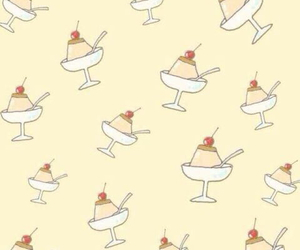background, ice cream, and wallpaper image