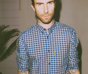 adam levine, maroon 5, and Hot image