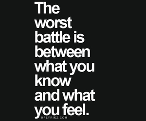 quotes, battle, and feel image