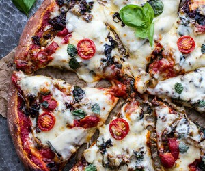 pizza, food, and italian image