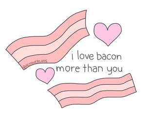 bacon, overlay, and transparent image
