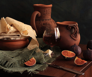 armenian, bread, and ceramics image