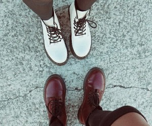 boots, girls, and dr martens image