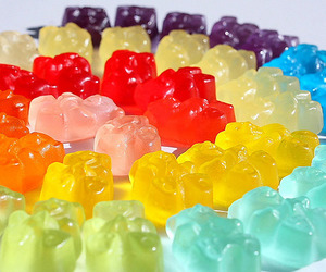 candy, sweet, and bear image