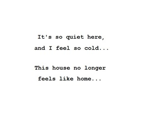 Lyrics, quote, and so cold image