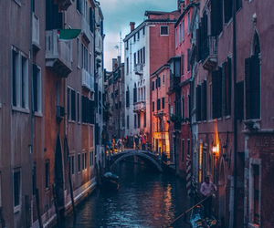 venice, italy, and water image