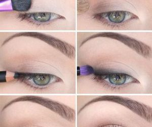 eye shadow, eyes, and natural look image