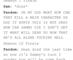 accurate, dean, and funny image