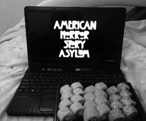 film, watch, and american horror story image