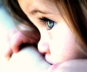 baby, eyes, and blue eyes image