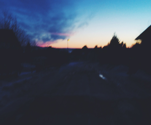 beautiful, blue, and dark image