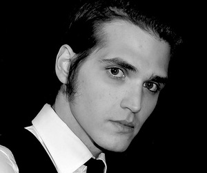 black and white, mikey way, and moikay image